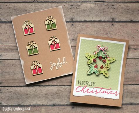 Handmade christmas cards are always special as they create so many special memories which you can cherish for years to come. Easy Christmas Cards: 5 Designs, 1 Set of Supplies - Consumer Crafts