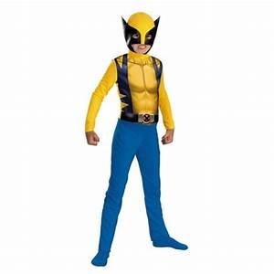 Marvel, Comics, Boys, Wolverine, Costume, With, Mask, Large, Husky, 10-12h, -, Walmart, Com