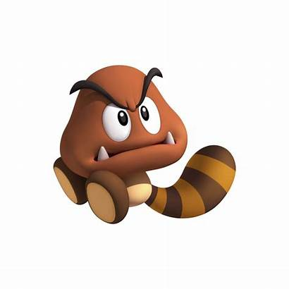Mario Land 3ds Bros Render Goomba Characters