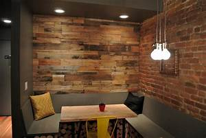 Recycled pallet paneling - Sustainable Lumber Company