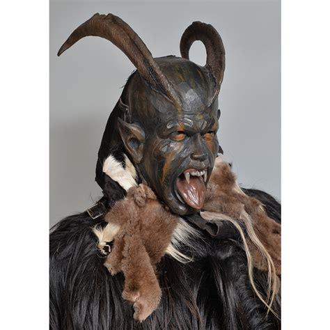 Austrian Perchtenmaske and Costume | Second Face