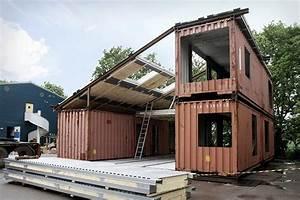 Die Wohngalerie Container Haus Wo Denn Perfekt Versteckt