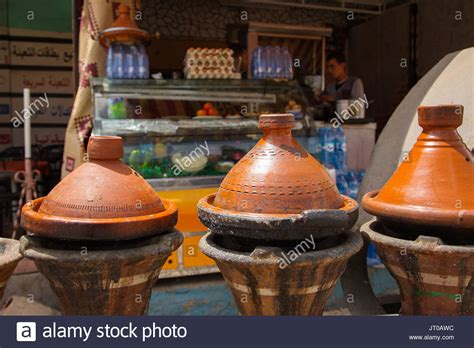 cuisine tajine traditional moroccan dish tajine morocco stock photos