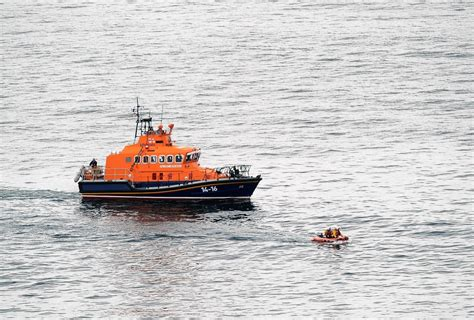Yacht Lifeboat by Lifeboat Tows Sluggish Yacht Back To Port Press And