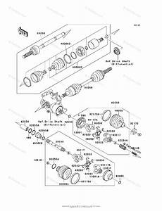 Kawasaki Atv 2000 Oem Parts Diagram For Drive Shaft