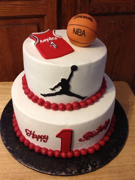 jordan birthday cake jordan basketball party pinterest