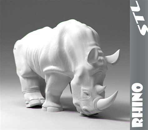 rhino stl  printable model cgtrader