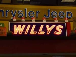 Willys Neon Signs on Waymarking