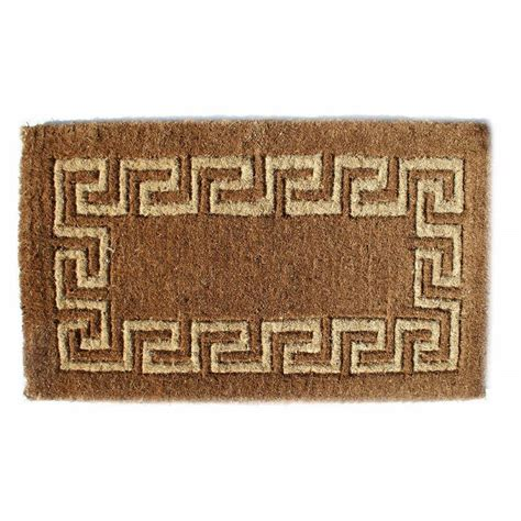 Key Doormat by Imports Decor Traditional Coir Key 39 In X 24 In