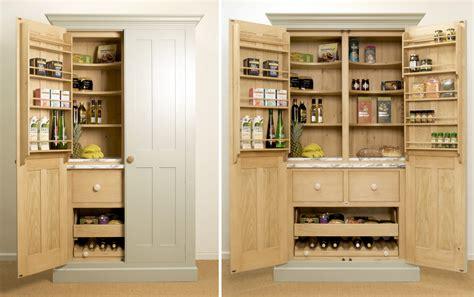 free standing kitchen pantry furniture larder cupboards levick jorgensen kitchens