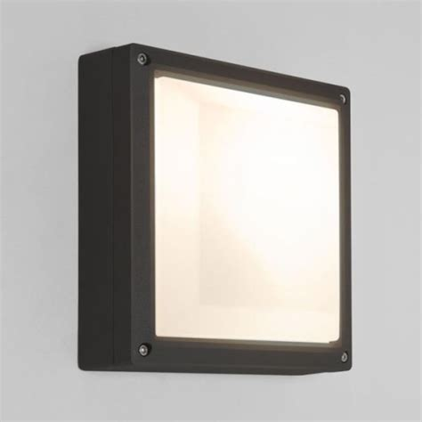 arta 210 square outdoor wall light 7120 the lighting