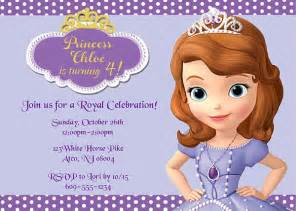 bridal shower favors sofia the birthday party invitations disney kids