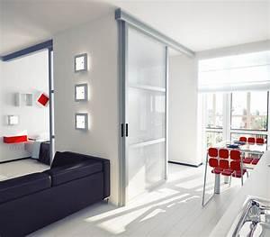 Porte A Galandage Double : porte galandage plus discr te qu une porte coulissante ~ Premium-room.com Idées de Décoration