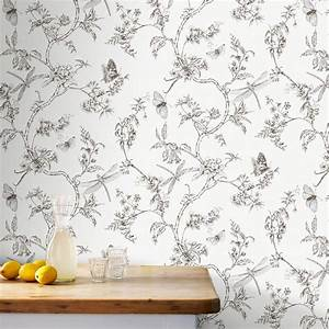18 stylish removable wallpaper designs thou swell With katzennetz balkon mit laura ashley garden