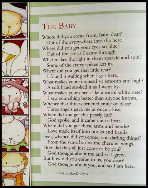dear god poems      baby dear
