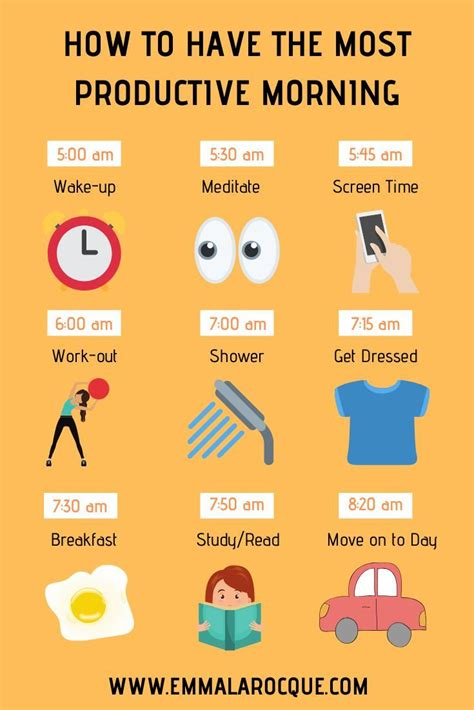 ideas   college morning routine college morning