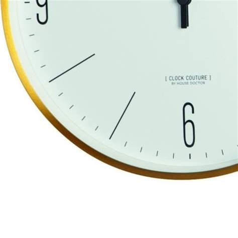 house doctor klok house doctor clock couture klok goud living and co