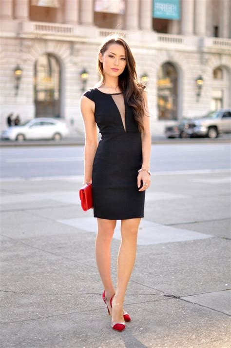 Outfits con Vestidos color negro para este San Valentu00edn 2016 | AquiModa.com
