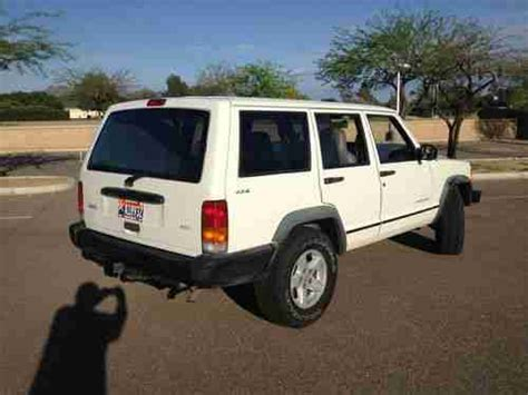 police jeep cherokee purchase used 1998 jeep cherokee police suv in scottsdale
