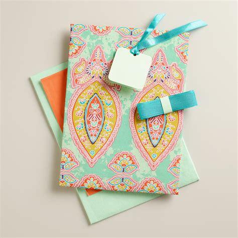 maria paisley fabric gift box kit world market