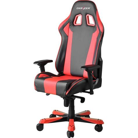 dxracer king fauteuil gamer rouge oh kf06 nr si 232 ge