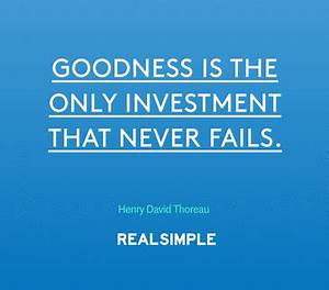 The Real Simple Daily Thought | Inspire | Daily thoughts ...