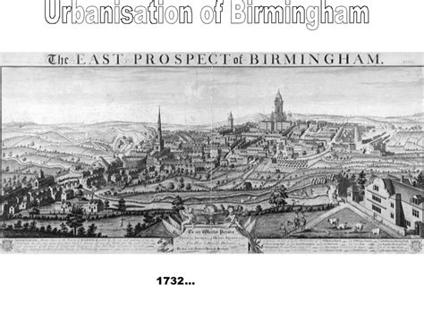 Urban change in Birmingham