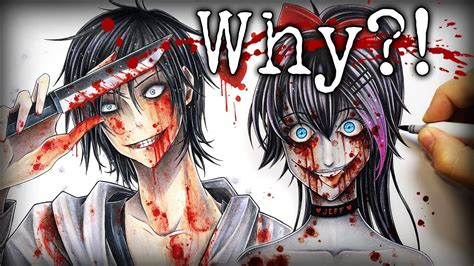 Why Do I Draw Creepypasta Characters?! (nina The Killer