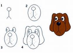 How To Draw A Dog Face Easy - ClipArt Best  How To Draw A Puppy