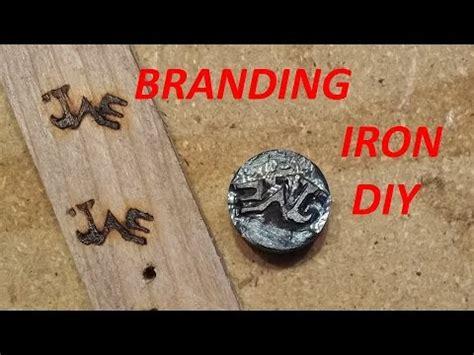 homemade wood branding iron diy wood burning youtube
