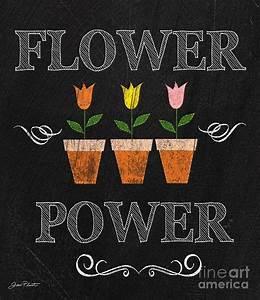 Spring Chalkboard Art-12 Digital Art by Jean Plout