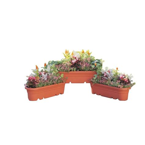 self watering vertical wall planters pots planters