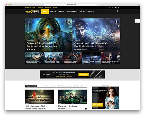 video template foto best video themes for embedded and self hosted