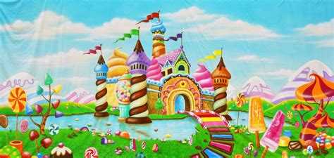 candyland background candyland castle a scenic backdrop matheson memorial library