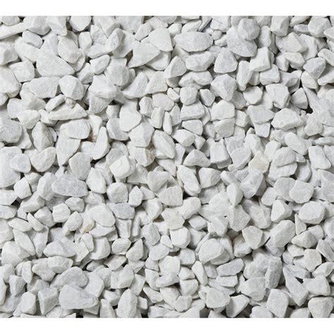 graviers en marbre blanc 12 18 mm 25 kg leroy merlin