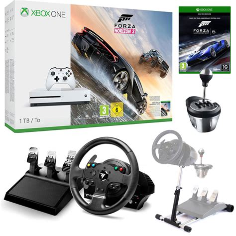 Volanti Xbox One by Microsoft Xbox One S 1 To Simracing Pack Console Xbox