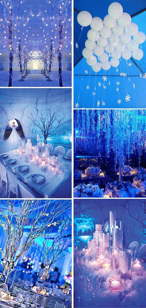 breathtaking winter wonderland inspired wedding ideas