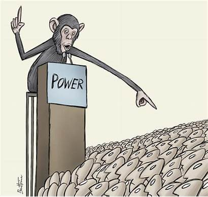 Power Powerful Cartoon Politics Concentrated Dimensions Dictature