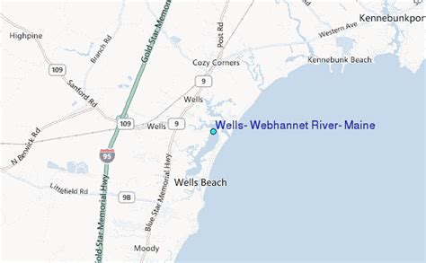 wells webhannet river maine tide station location guide