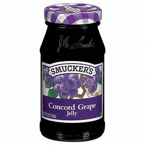 Smucker's Concord Grape Jelly - Glas (340g), 4,79