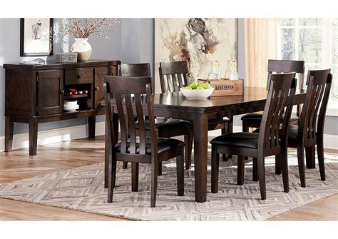 Alabama Furniture Market Haddigan Dark Brown Rectangle