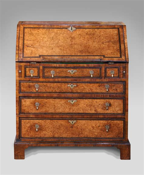 bureau secretaire antique walnut bureau early walnut bureau georgian