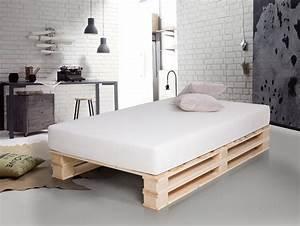 Jugendzimmer Mit Bett 140x200 : paletti duo massivholzbett aus paletten 120 x 200 cm fichte natur ~ Bigdaddyawards.com Haus und Dekorationen
