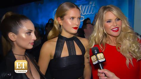 tony bennett diana krall swimsuit christie brinkley and her daughters on sports illustrated