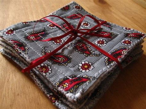 quick  easy coasters   sew  fabric coaster sewing  cut