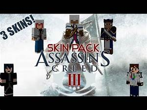 Minecraft Skin Pack Assassin39s Creed 3 YouTube