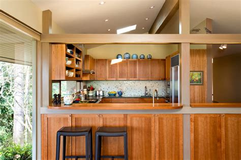 pacific nw mid century kitchen remodel midcentury