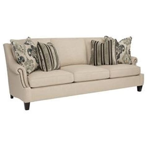 bernhardt cantor sectional sofa bernhardt cantor sofa with nail trim and low set arms