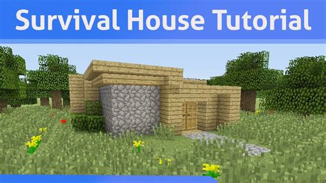 small survival house tutorial minecraft xbox ps youtube