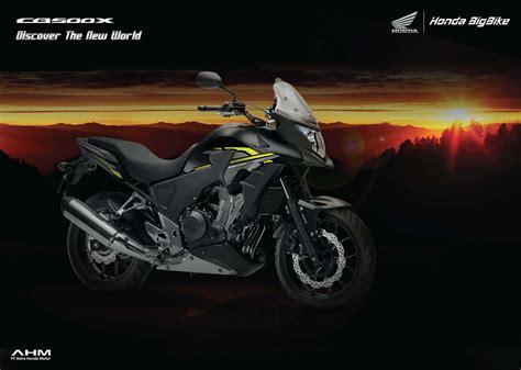Gambar Motor Honda Cb500x by Brosur Motor Honda Cb500x Honda Cengkareng